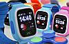Умные детские часы Smart Baby Watch Q90 с GPS трекером Оригинал желтые (оранжевые), фото 3