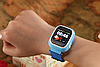 Умные детские часы Smart Baby Watch Q90 с GPS трекером Оригинал желтые (оранжевые), фото 6