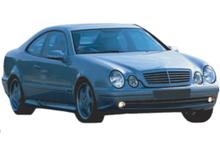 Mercedes CLK W208 97-03