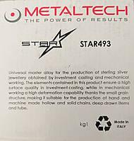 Лигатура для серебра(Ag) 925, прокат, Metaltech