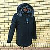 Мужская зимняя куртка парка молодежная, фото 4