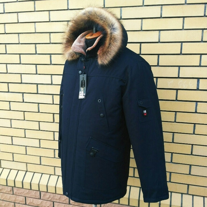Мужская зимняя куртка парка молодежная