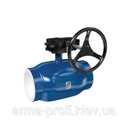 Кран шаровый приварной Interval полнопроходной Ду 250 Ру25