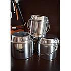 Набор посуды из алюминия Tramp на 3-4 чел. Набор туристической посуды, фото 3