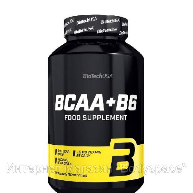 Biotech USA, Бцаа BCAA+B6, 200 таблеток