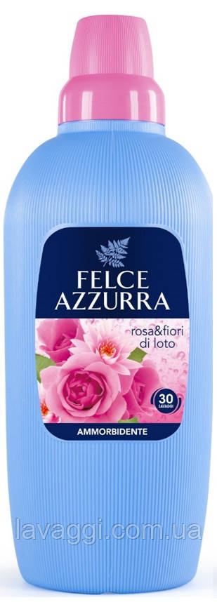 Ополіскувач для тканин з ароматом троянди та квітів лотоса Felce Azzurra Amm. Rose & Lotus Flowers 2000 ml