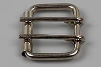 Пряжка 40 мм с двумя шпеньками и одним шпеньком для джинсового ремня