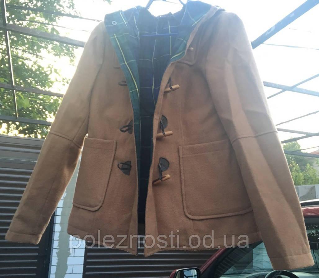 Б/У пальто кашемировое ZARA, размер L
