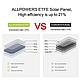 Ультратонкое зарядное устройство на солнечных панелях AllpowersAP- ES-004 21W с технологией ETFE, фото 5