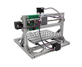Лазерный фрезерно-гравировальный станок USB 2518 (лазер 2500mW + шпиндель 150W), 3 координаты, фото 3