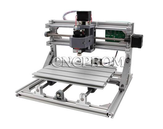 Лазерный фрезерно-гравировальный станок USB 2518 (лазер 2500mW + шпиндель 150W), 3 координаты, фото 2