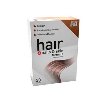 Hair +Nails & Skin formula (30 tabs) Fitness Authority