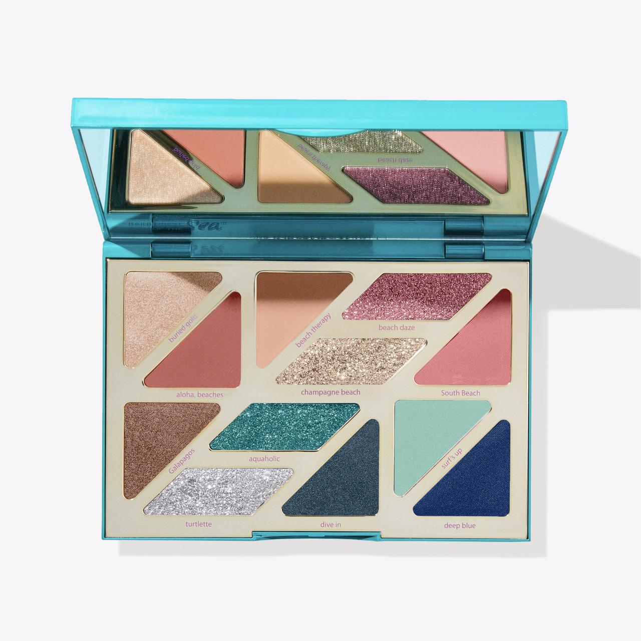 Палетка теней для век High Tides & Good Vibes Eyeshadow Palette Tarte