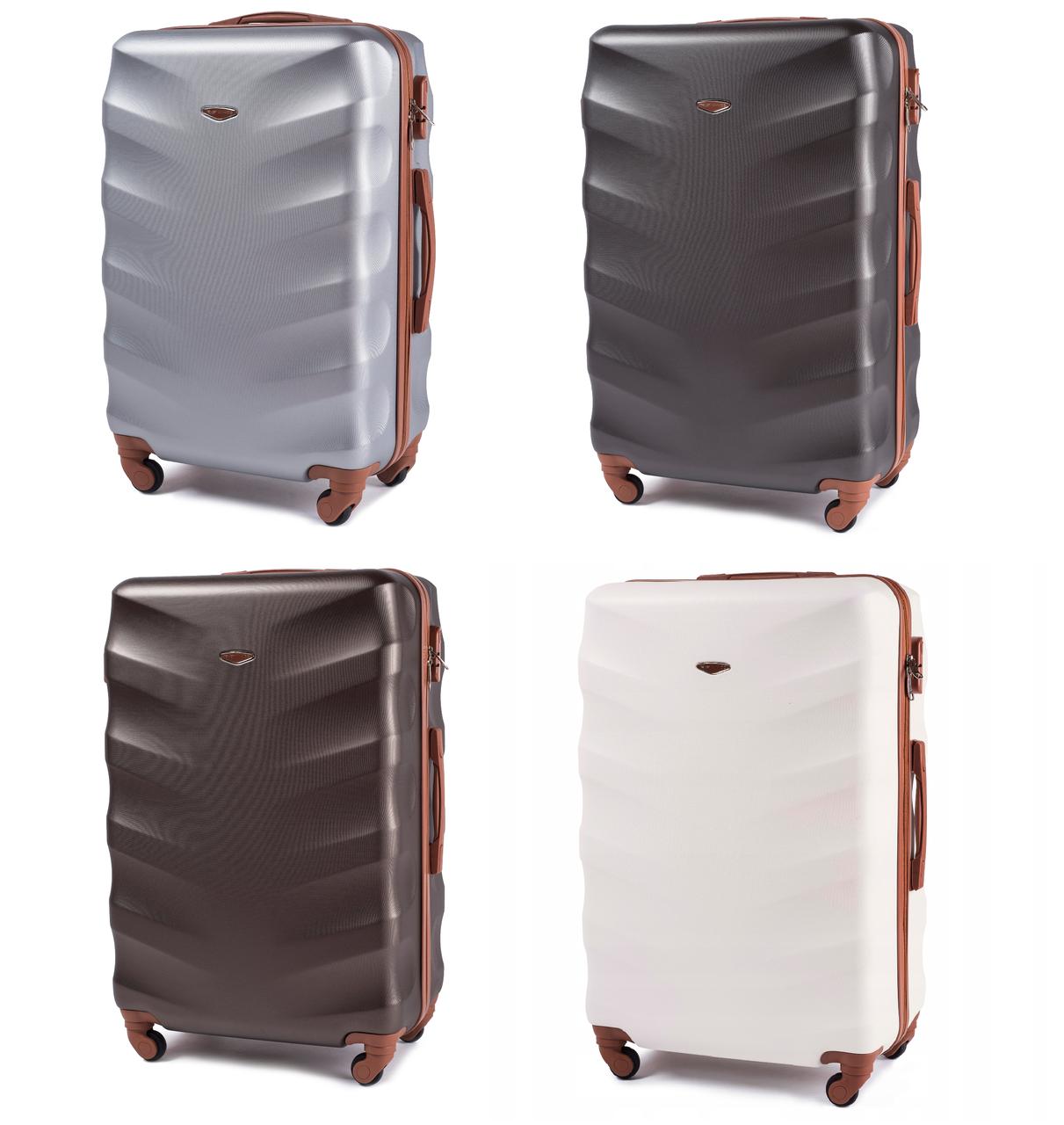 Дорожный чемодан на колесах WINGS 402 Exlusive из поликарбоната Большой
