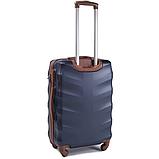Дорожный чемодан на колесах WINGS 402 Exlusive из поликарбоната Большой, фото 4