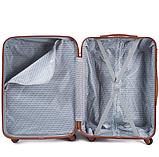 Дорожный чемодан на колесах WINGS 402 Exlusive из поликарбоната Большой, фото 5