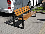 Скамейка парковая 1,7 м, фото 3