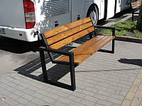Скамейка парковая, 200 см (арт. MS-LP-016-200)