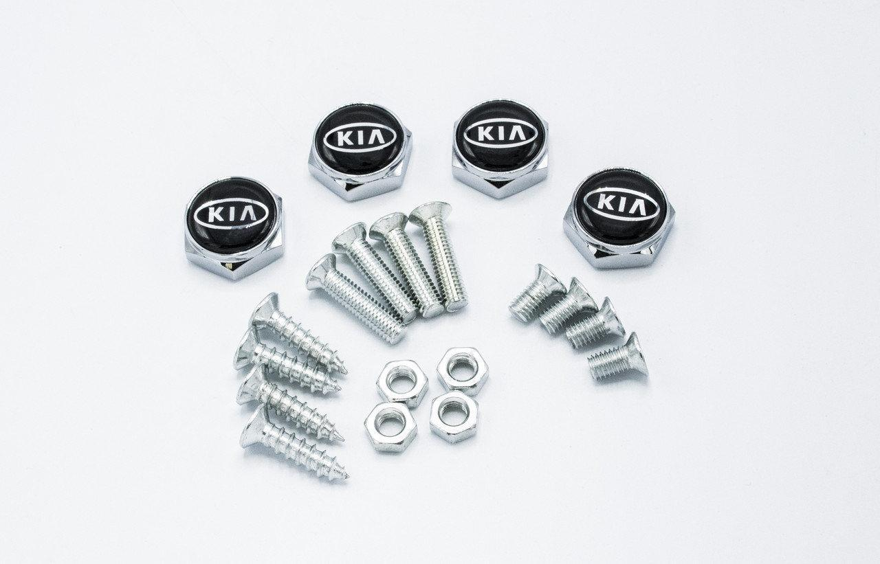 Болты для номерного знака YEK с логотипом KIA, набор болтов для номеров логотип Киа