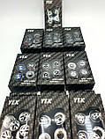 Болты для номерного знака YEK с логотипом MERCEDES, набор болтов для номеров логотип Мерседес бенц, фото 3