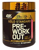 Предтренировочный комплекс, Optimum Nutrition, Gold Standard Pre Workout, 30 порций
