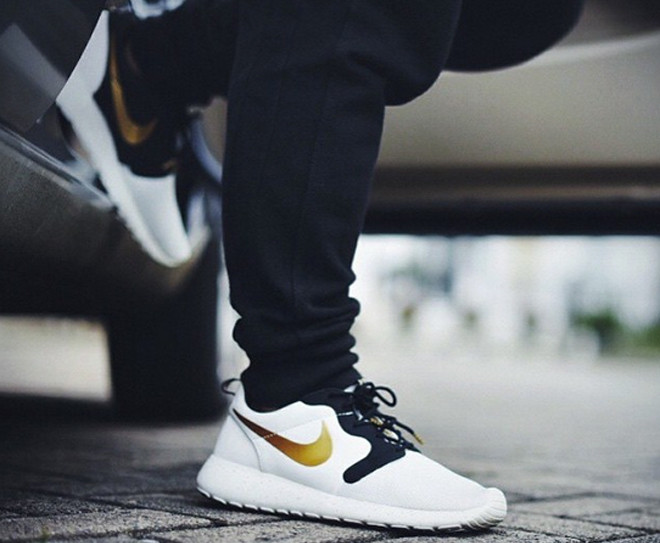Кроссовки Nike Roshe Run Hyperfuse Venin Hyper Or 2