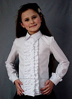 Школьная блузка для девочек 2050, фото 1