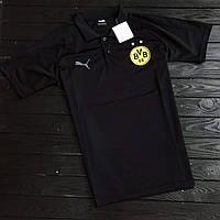 Мужское Поло Боруссия с логотипом Borussia Dortmund  2018-2019 PUMA пума
