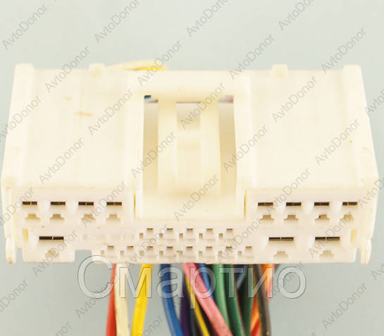Разъем электрический 24-х контактный (42-14) б/у