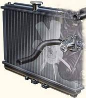 Радиатор охлаждения двигателя автомобиля