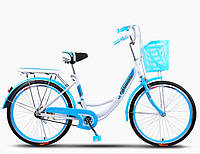 "Велосипед FASHION CITY BIKE 24"" (от 9 лет или от 135 см)"