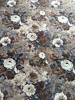 Мебельная ткань принт Пион 1, фото 1