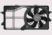 Вентилятор системы охлаждения двигателя автомобиля
