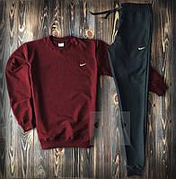 Спортивный костюм с Nike бордового цвета