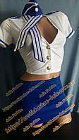 Игровой костюм «Стюардесса» / Эротическое белье / Сексуальное белье / Еротична сексуальна білизна