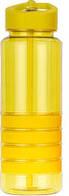 Бутылка для воды Smile 750 мл, желтая, BPA Free (Польша), фляга спортивная