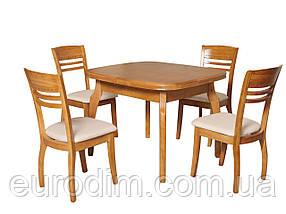 Стол обеденный А-21  ольха, фото 2