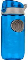 Бутылка для воды, синяя, 560мл  BPA Free (Польша), фляга спортивная