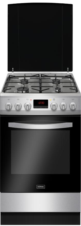 Кухонная, черная плита Kernau KFC 5008 GE X