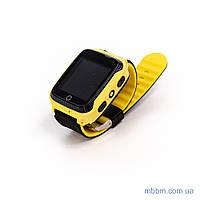 Детские смарт-часы с GPS трекером G900a yellow