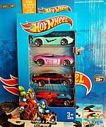 Игровой набор Hot Wheels машины 8616 Хот вилс машины 4шт Мстители 26*12см