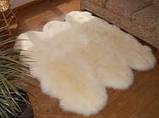 Ковер из шести овечьих шкур белый, фото 2