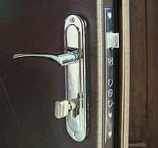 Уличные входные двери Редфорт Альфа ПВХ винорит (vinorit), фото 3