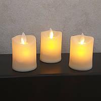 Светодиодная свеча с имитацией пламени 4W32 набор