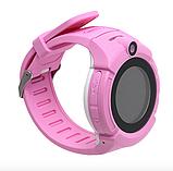 Дитячі Смарт годинник з GPS Q610 Blue (Smart Baby Watch) Розумні годинник, фото 5