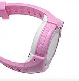 Дитячі Смарт годинник з GPS Q610 Blue (Smart Baby Watch) Розумні годинник, фото 4