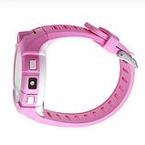Дитячі Смарт годинник з GPS Q610 Blue (Smart Baby Watch) Розумні годинник, фото 7