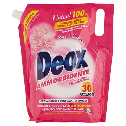 Кондиционер-ополаскиватель для белья 1,5 л Deox Ammorbidente Rose 8002295036339