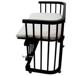 Кроватка приставная Baby dream classic 100×45, орех