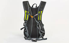 Рюкзак спортивный с жесткой спинкой GA-2081 (нейлон, р-р 31х8х43см,цвета в ассортименте ), фото 3